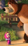 Cute Masha and the bear HD Wallpaper screenshot 4/6