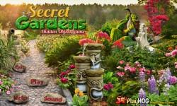 Free Hidden Object Games - Secret Gardens screenshot 1/4