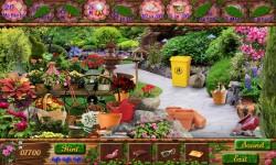 Free Hidden Object Games - Secret Gardens screenshot 3/4