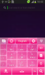 Keyboard Plus Pink screenshot 4/6