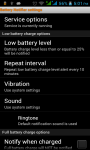 Battery  Notifier screenshot 2/6