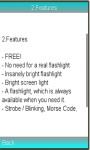 Tiny Flashlight LED for best light screenshot 1/1