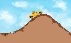Pou Hill Climb screenshot 1/4
