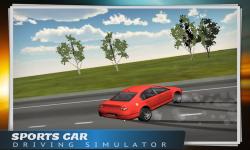 Sports Car Driving Simulator screenshot 3/5