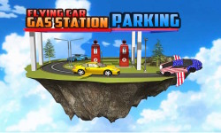 Flying Car Gas Station Parking screenshot 1/4