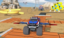 Flying Car Gas Station Parking screenshot 2/4