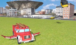 Flying Car Gas Station Parking screenshot 4/4