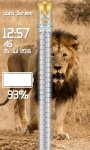 Lion Zipper Lock Screen Top screenshot 5/6