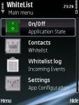 Whitelist Mobile screenshot 1/1