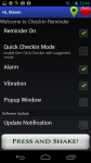 CheckinReminder screenshot 4/4