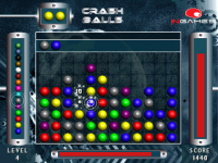Crash Balls 320x240 screenshot 2/2