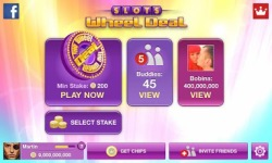 Slots Wheel Deal by Yazino by Yazino screenshot 2/4