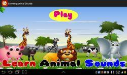 Learning Animal Sounds screenshot 1/6