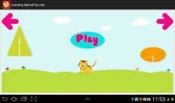 Learning Animal Sounds screenshot 2/6