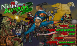 Ninja vs Zombies 2 screenshot 1/5