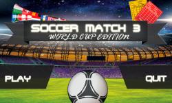 Soccer Match3  screenshot 1/6