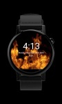 Animated Flames Watch Face screenshot 1/3