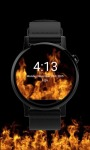Animated Flames Watch Face screenshot 3/3