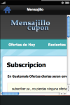 mensajillo screenshot 3/3
