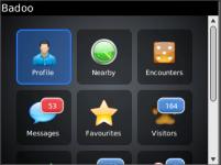 Badoo for Blackberry screenshot 3/5