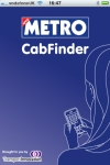 Metro CabFinder screenshot 1/1