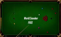 World Snooker Free screenshot 1/3