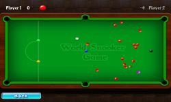 World Snooker Free screenshot 2/3