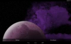 Rotating Planet Live Wallpaper screenshot 5/5