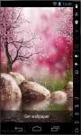 Flowing Sakura Live Wallpaper screenshot 1/2
