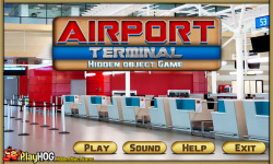 Free Hidden Object Games - Airport Terminal screenshot 1/4