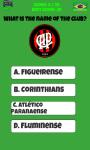Brazil Football Logo Quiz screenshot 3/5