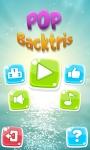 Pop BackTris HD screenshot 1/4