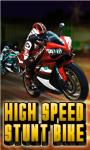 High Speed Stunt Bike-free screenshot 1/1