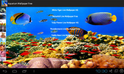 Aquarium Live Wallpapers Free screenshot 3/4