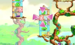 Angry Birds Stella New Version screenshot 1/4