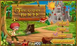 Free Hidden Object Game - Treasure Book screenshot 1/4