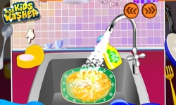 Kids Dish Washer - Kids Game screenshot 1/5