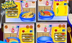 Kids Dish Washer - Kids Game screenshot 2/5