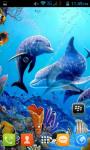 Dolphin Live Wallpaper Best screenshot 2/5