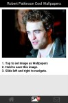 Robert Pattinson Cool Wallpapers  screenshot 3/6