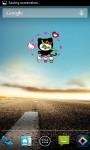 Hello Kitty Android Clock Widget screenshot 2/4