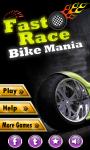 Fast Race Bike Mania Game screenshot 1/5