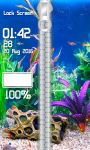 Aquarium Zipper Lock Screen Best screenshot 4/6