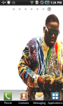 Biggie Smalls Live Wallpaper screenshot 1/3