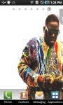 Biggie Smalls Live Wallpaper screenshot 2/3