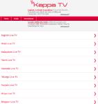 KAPPA Mobile TV screenshot 1/4
