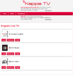 KAPPA Mobile TV screenshot 2/4