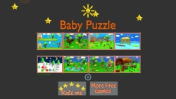 Cartoon Baby Puzzle screenshot 1/3
