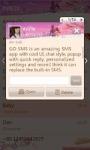 GOSMS Valentine love theme screenshot 6/6