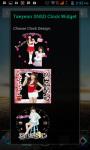 Taeyeon SNSD Clock Widget screenshot 1/4